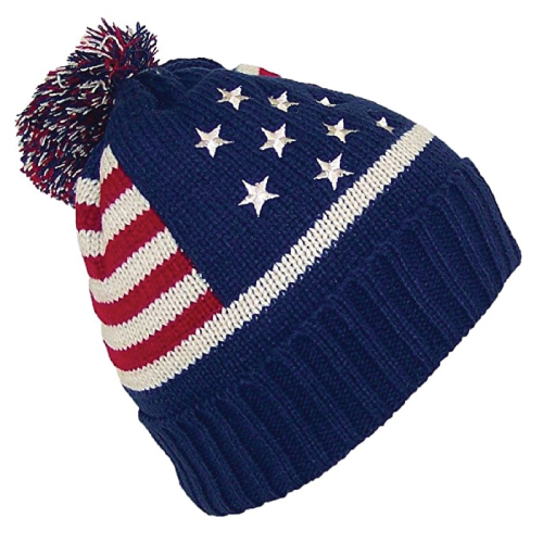 American Flag Beanie Hat. Teen fashion for guys. Christmas gifts for teen boys.