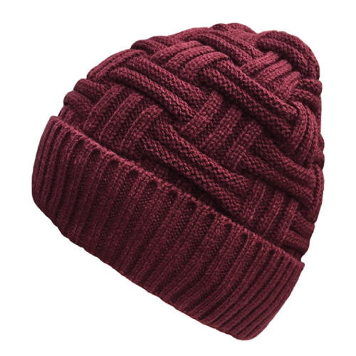 Slouchy Knit Beanie Hat (Stocking stuffers for him)