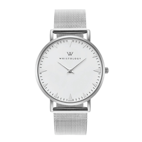 WRISTOLOGY Stella Silver Boyfriend Watch. Teen fashion. Christmas gift ideas for teen girls. Stocking stuffers for her.
