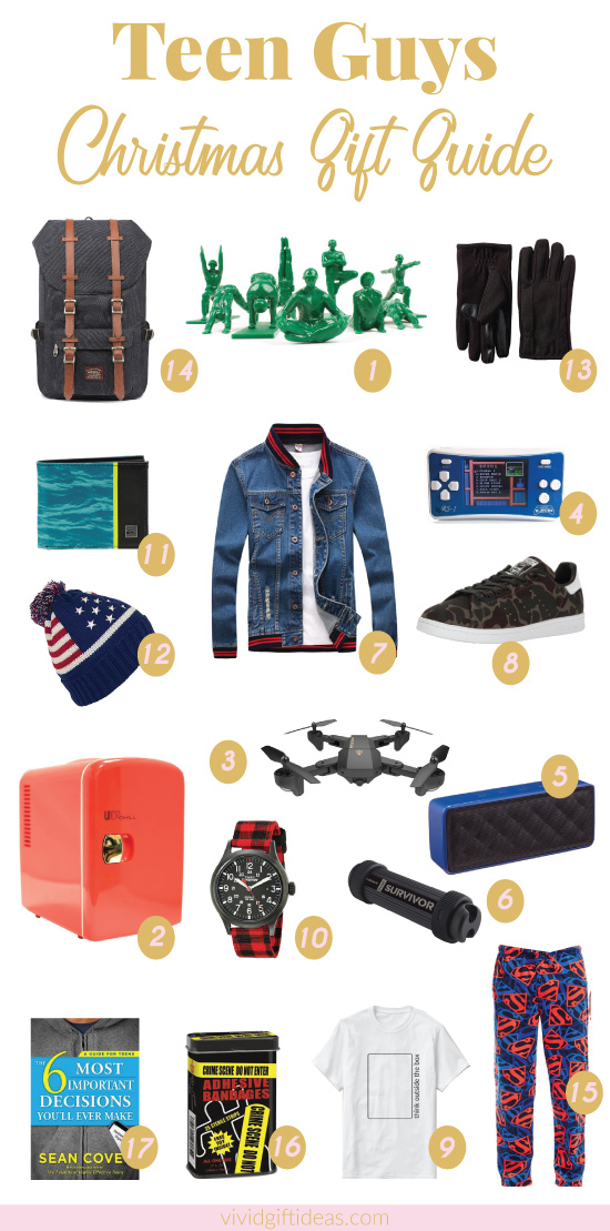 17 Best Christmas Gift Ideas for Teen Boys - Vivid's