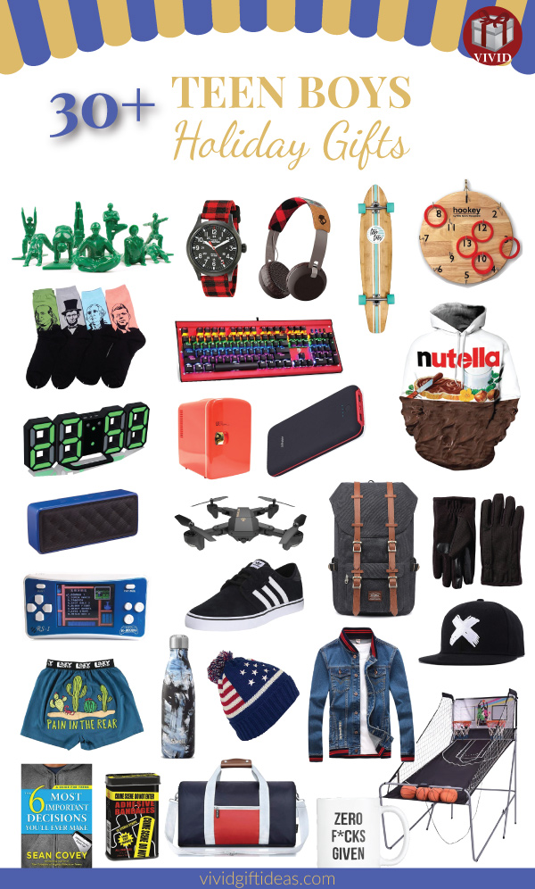 Teen Boy Christmas.36 Unique Christmas Gifts For Teen Boys 2018 Updated List
