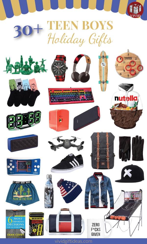 Christmas gifts for teen boys