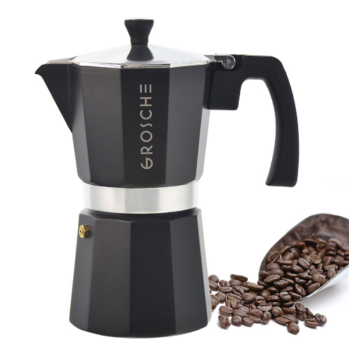 GROSCHE Milano Moka Coffee Maker. Holiday gift guide for men. Christmas gifts for dad.