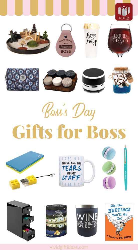 Boss Day Gift Ideas for Men and Women