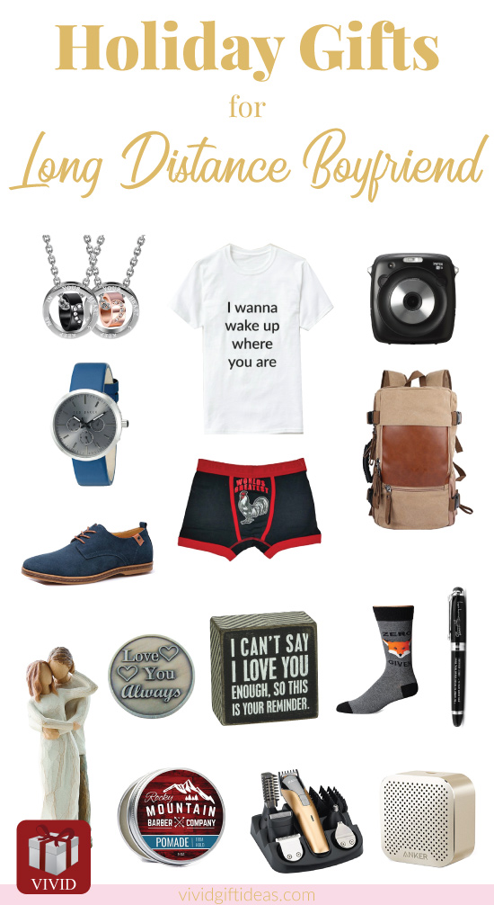Long Distance Relationship Gift Ideas | Christmas gifts for long distance boyfriend