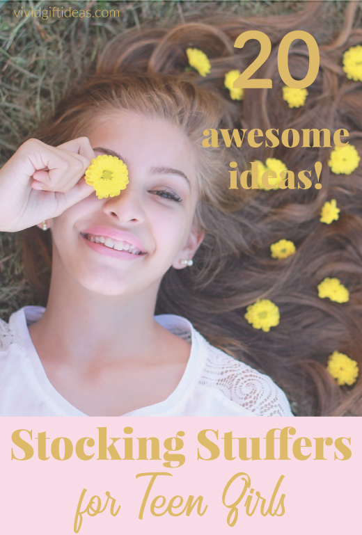 Christmas Gifts For Teens. Stocking Stuffer Ideas For Teen Girls.