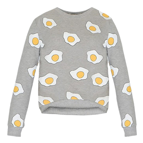 Fried Eggs Pullover Sweater