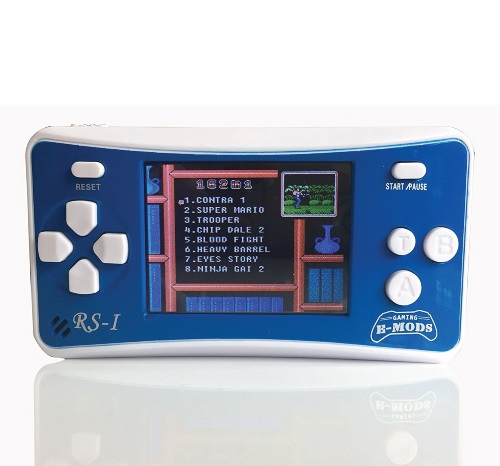 8 Bit Retro Handheld Video Game Console. Tech gifts for guys. Christmas gifts for teen boys.