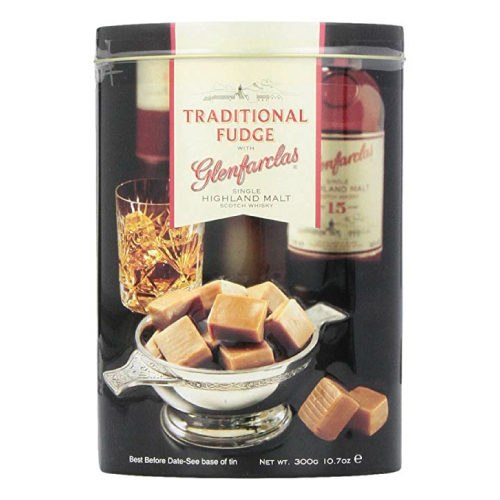 Gardiners of Scotland Traditional Fudge with Glenfarclas Single Highland Malt Scotch Whisky