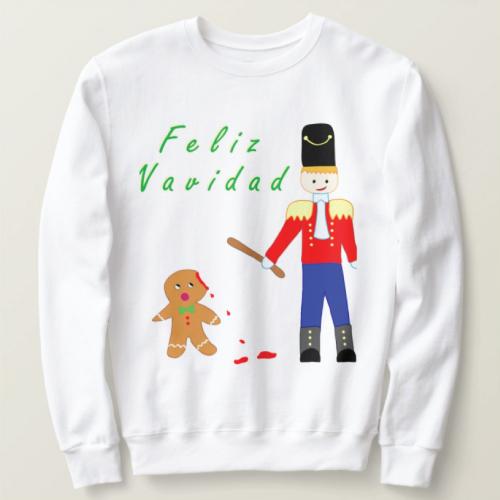 Funny Gingerdead Man Sweater