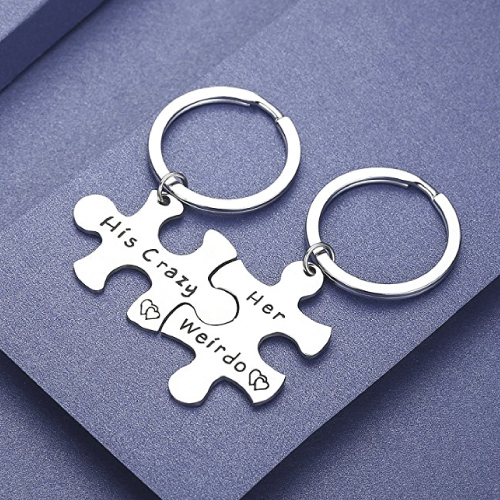 Couple Keychain Set