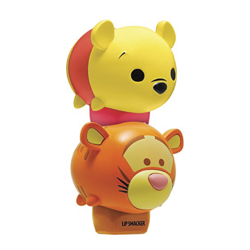 Lip Smacker Winnie The Pooh and Tigger Lip Balm(Stocking stuffer ideas for teens)