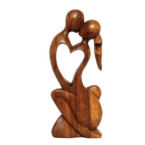 Endless Love Wood Sculpture