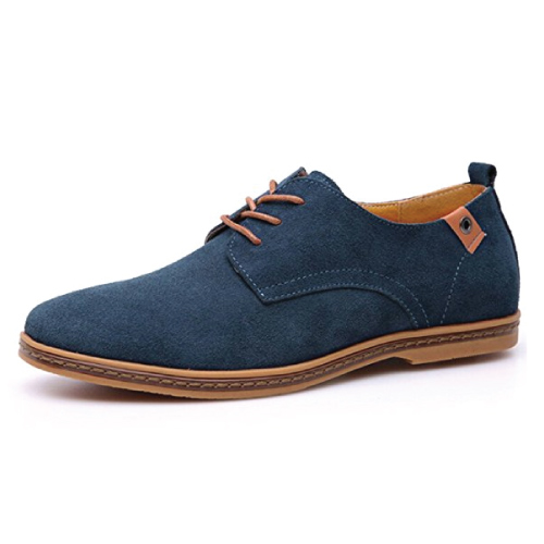 Fansela PU Leather Shoes. Mens fashion. Holiday gift guide for men. Christmas gifts for long distance boyfriend