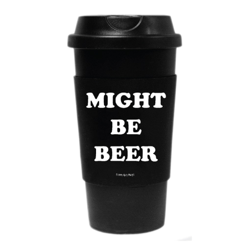Might Be Beer Travel Tumbler