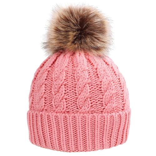 Pompoms Beanie Hat. Stocking stuffer ideas for her. Teens stocking stuffers.