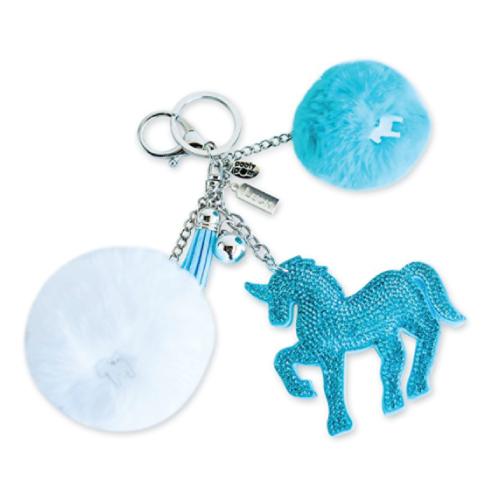 Pom Unicorn Keychain (Stocking stuffer ideas for teens)