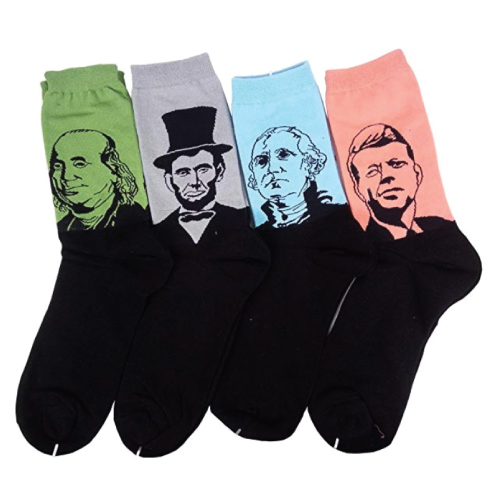 Famous Presidents Socks