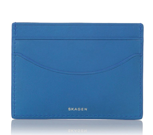 Skagen Men's Torben Card Case. Mens fashion. Holiday trends 2017. Christmas gifts for dad.