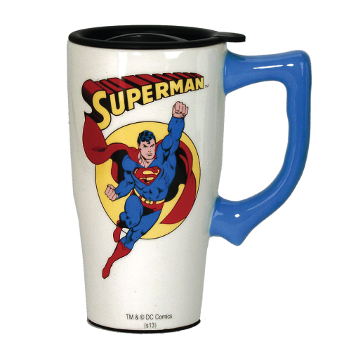 Superman Travel Mug- Christmas gifts for dad from kids