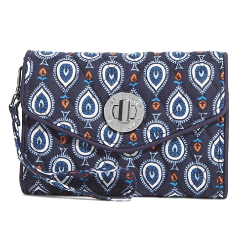 Vera Bradley Your Turn Wristlet. Gifts for female boss. (Bosses Day gift ideas for women)