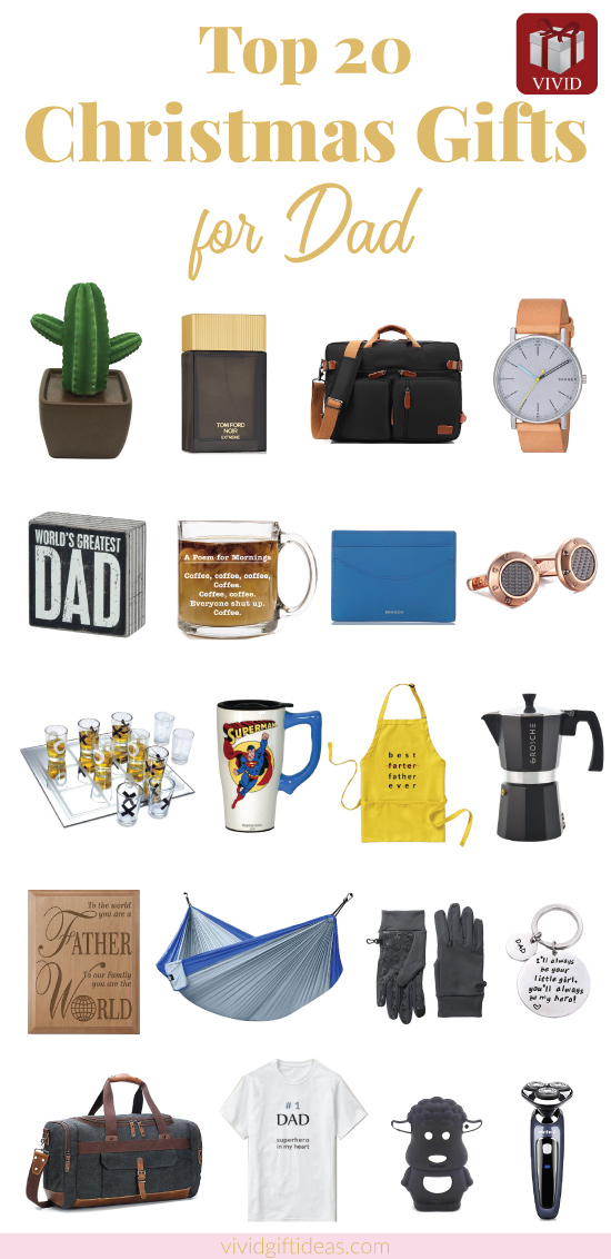 Christmas gift ideas for dad. 2017 Holiday Gift Guide. Gifts for father. - 20 Best Christmas Gifts For Dad 2018 Vivid Gift Ideas
