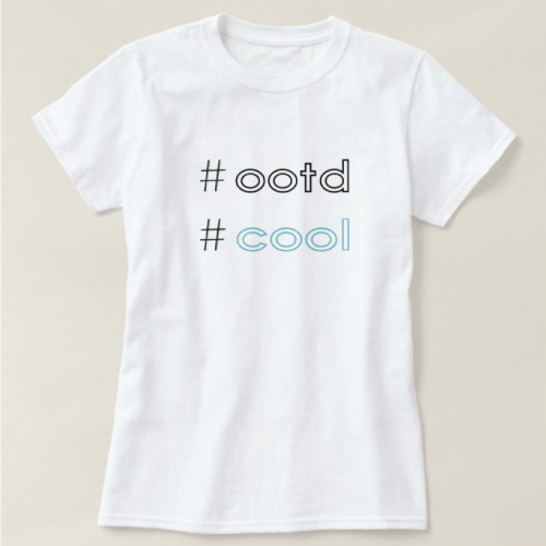 OOTD Statement T-shirt