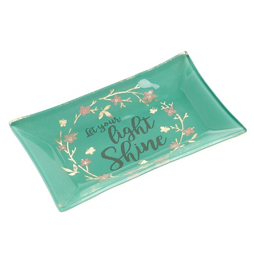 Let Your Light Shine Trinket Dish. Christmas gifts for women. Christmas gifts for mom.