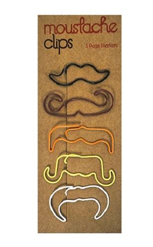Moustache Paper Clips