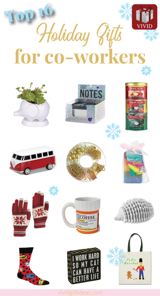 Christmas Gifts For Coworkers #cheap #office #holiday