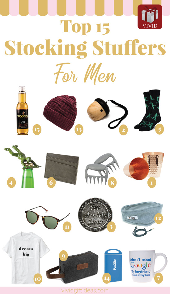 Holiday gift guide 2017. Stocking stuffers for him