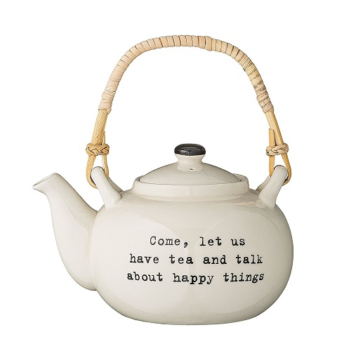 Tea and Happy Things Teapot