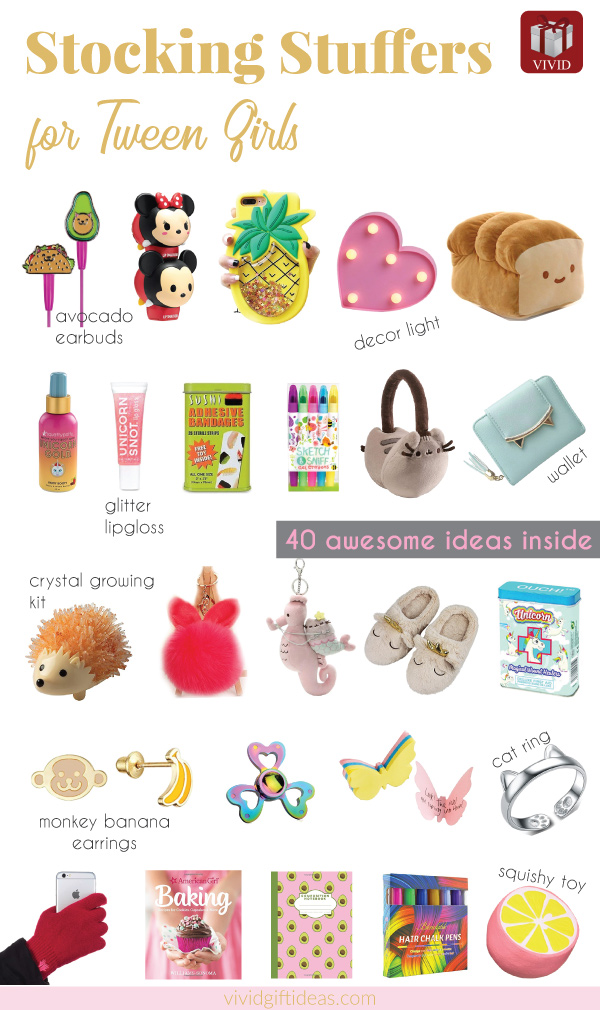 Stocking Stuffers for Tween 9-12 Years Old
