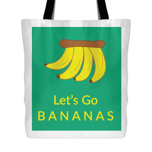 The Bananas Tote Bag