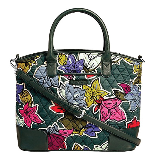 Vera Bradley Day Off Satchel Bag. 2017 holiday trends for her. Christmas gifts for mom.