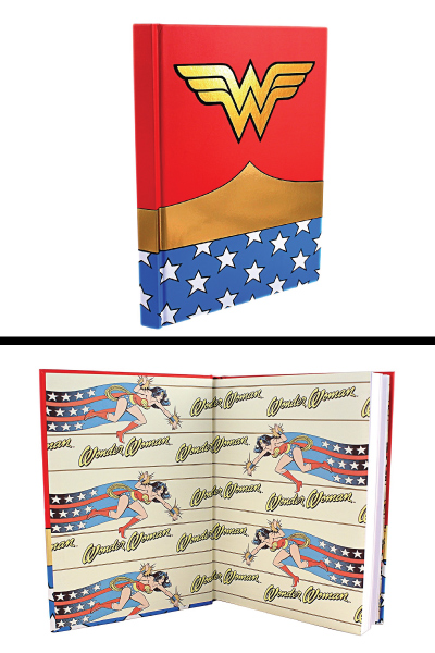 DC Comics Wonder Woman Journal (Mom gifts for Christmas holiday)