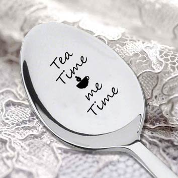 Tea Time Me Time Spoon