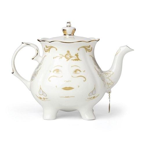 Disney Lenox Classics Beauty and the Beast Mrs. Potts Teapot