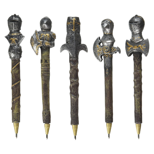 Medieval Knight Pen Set