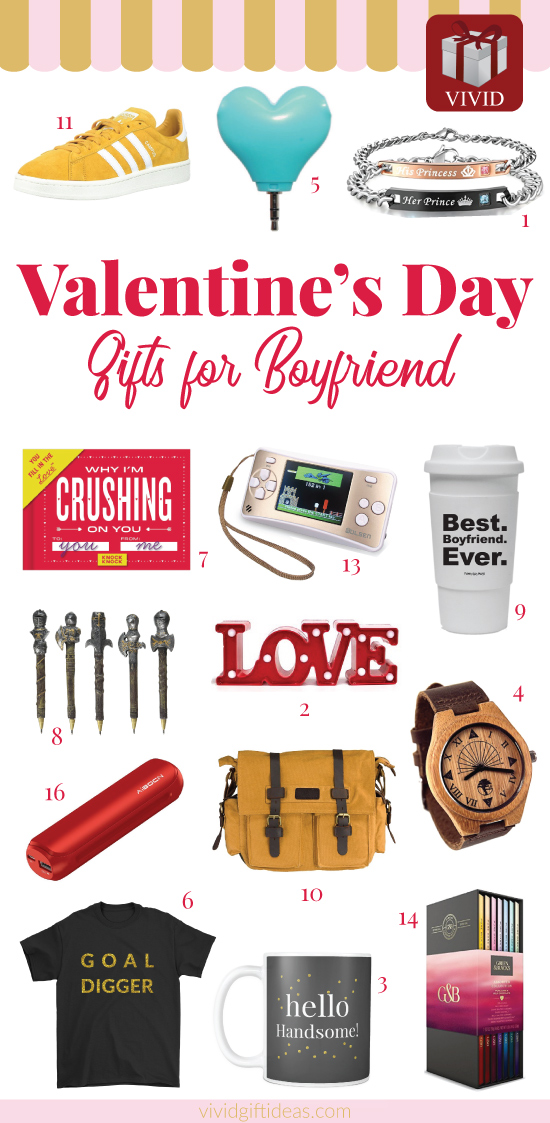 Valentines Day gifts for boyfriend teens