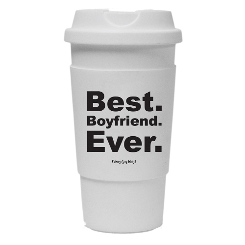 Best Boyfriend Ever Travel Tumbler