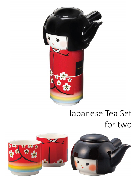 Japanese Doll Tea Set