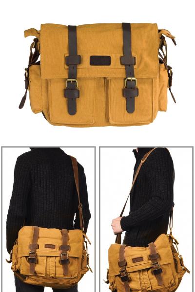 Military Satchel Messenger Bag