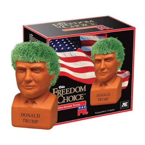Chia Pet Donald Trump Planter