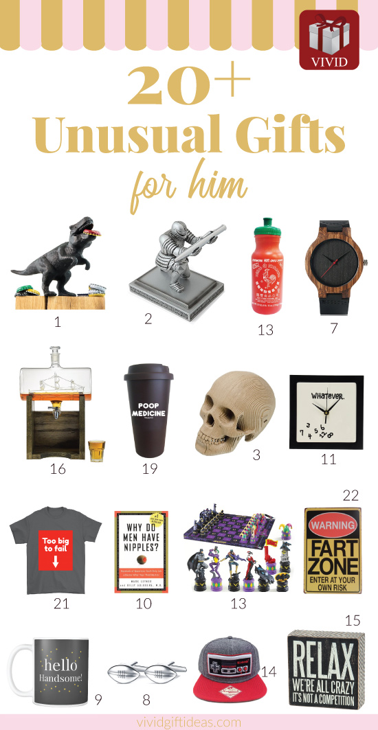 20 Unusual Gifts For Men Vivid S