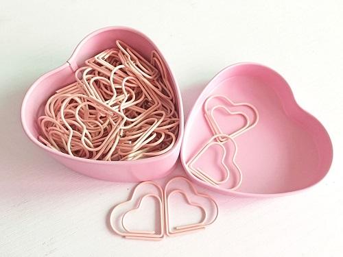 Heart Shape Paper Clips