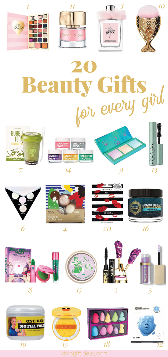 Beauty gifts for beauty lovers