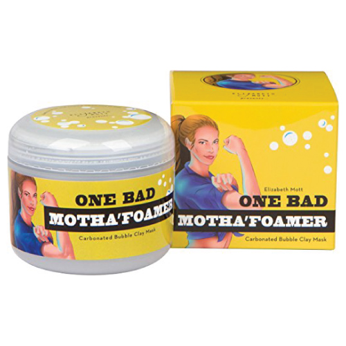 One Bad Motha'foamer Carbonated Bubble Clay Mask By Elizabeth Mott