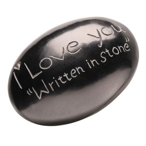 I Love You Gift Stone