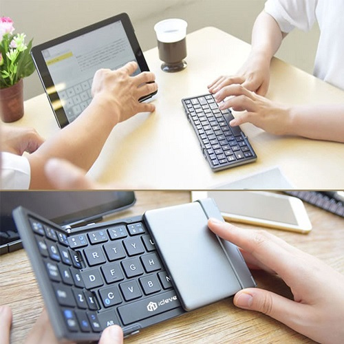 gifts for engineers iClever Portable Folding Keyboard
